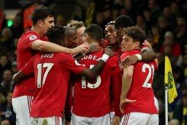 Liga Inggris, MU bungkus tiga poin dari markas Norwich