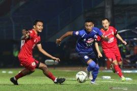 Hasil Liga 1: Gol penalti Konate bawa Arema kalahkan Semen Padang