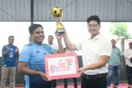Turnamen Futsal media perdana di Maluku Utara sukses