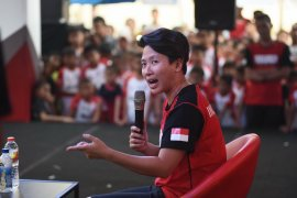 Pesan Butet untuk peserta audisi beasiswa bulu tangkis