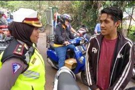 Baca Sumpah Pemuda, hukuman pelanggar lalu lintas di Pontianak