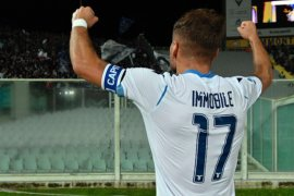 Lazio bawa pulang tiga poin dari Fiorentina