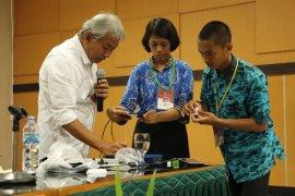 Polbangtan Bogor-KOHIBORA gelar pelatihan hidroponik sistem rakit apung ke mahasiswa