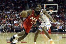 Harden ukir 40 poin Rockets tundukkan Thunder