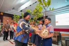 Siti Nurbaya ajak siswa sekolah global mandiri jaga lingkungan hidup