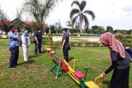 Kementerian PPPA nilai ruang bermain ramah anak di Nagan