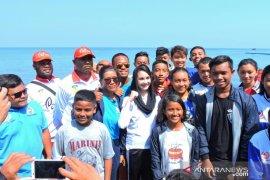 Arumi ajak atlet selam PON kunjungi destinasi wisata Situbondo