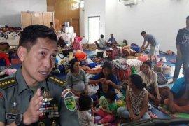 Kapendam Cenderawasih nyatakan 385 pengungsi ingin kembali ke Wamena