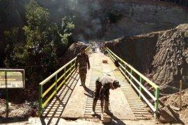 Satgas TMMD rampungkan jembatan Bah Bolon