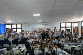 ACT Jatim berikan pelatihan tanggap bencana siswa SMP di Surabaya