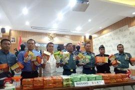 TNI AL gagalkan penyelundupan 79 kilogram sabu-sabu