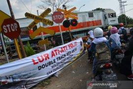 Pengoperasian Jalur ganda KA di Jombang