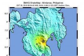 Gempa Mindanao-Filipina dipicu sesar lokal