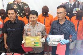 Polres Madiun Kota tangkap tujuh pelaku penyalahgunaan narkoba