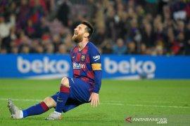 Bartomeu: Messi bertahan di Barcelona lima tahun lagi