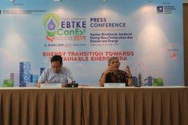 Menteri ESDM : pemanfaatan energi baru terbarukan hanya 8 persen