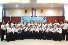 Pembukaan Diklat Petugas Pengatur Lalu Lintas di Kabupaten Belitung