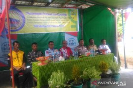 Pelajar SMA Bina Bangsa di Kubu Raya ikuti sosialisasi masuk TNI-Polri