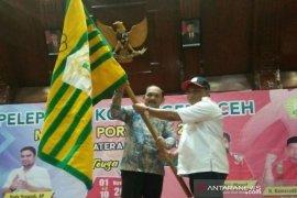 Kontingen Aceh target 16 emas Porwil