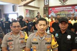 Polres Banjar tangkap 59 pengedar dan pemakai narkoba