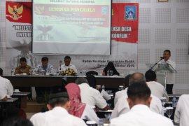 Sosialisasikan Reksa Desa, Bakesbangpol Sleman gelar Seminar Pancasila