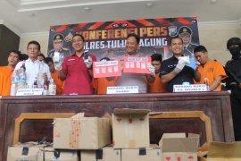 Polres Tulungagung bongkar dua jaringan pengedar narkoba