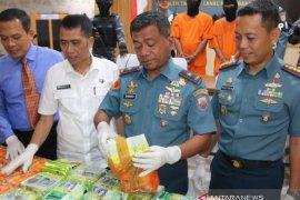 Lanal Palembang tingkatkan patroli wilayah perairan Sumsel-Jambi