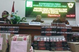 Peredaran 160 ribu batang rokok ilegal digagalkan Bea Cukai, 1 tersangka diamankan