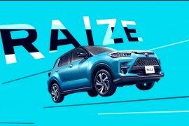 Toyota Raize 2020 akan debut pekan depan di Jepang