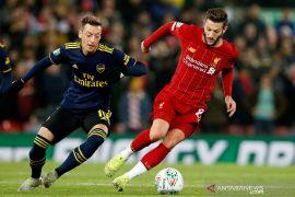 Piala Liga Inggris, Liverpool tundukkan Arsenal lewat drama 10 gol