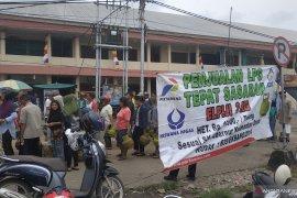 Pertamina gelar operasi pasar elpiji bersubsidi di sejumlah pasar tradisional di Pontianak