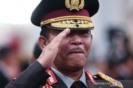 Kapolri sebut 74 terduga teroris ditangkap setelah bom Medan