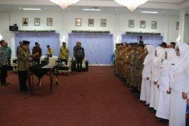 Bupati Paser Lantik 67 Pejabat Fungsional