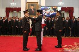 Idham Azis langsung dapat kenaikan pangkat jadi Jenderal Polisi