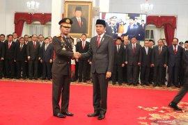 Presiden lantik Idham Azis sebagai Kapolri