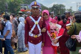 Anak Idham Azis dilantik jadi prajurit taruna masuk 10 besar berprestasi