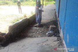 Bangunan SMA Bina Bangsa di Kubu Raya mengalami rusak berat