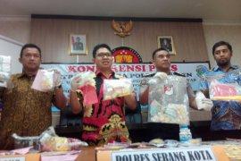38 kasus obat terlarang dengan 45 tersangka diungkap Polda Banten