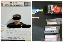 Polisi ringkus pria miliki sembilan paket sabu-sabu