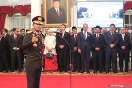 Kapolri: Presiden Jokowi berpesan kerja, kerja, kerja