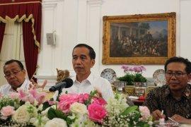 Presiden Jokowi tegaskan tidak keluarkan Perppu KPK hingga uji materi selesai
