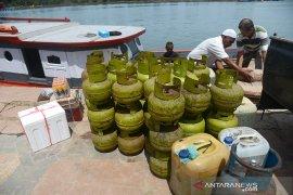 Pasokan elpiji subsidi ke Pulau Aceh