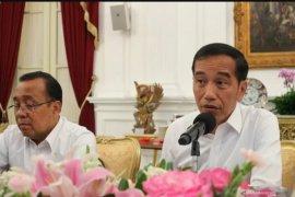 Presiden Jokowi tanggapi rencana pemakaian cadar dan celana cingkrang