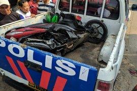 Pengendara motor tewas terseret kereta api Bandara Soekarno-Hatta