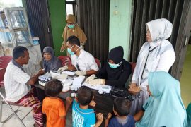 Korban banjir Aceh Barat mulai diserang penyakit