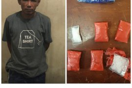 Pengedar sabu-sabu di Tanjungpura diciduk Polisi Langkat