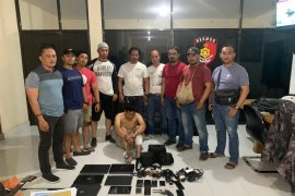 Polda Bali tangkap pencuri lintas provinsi Lampung-Bali