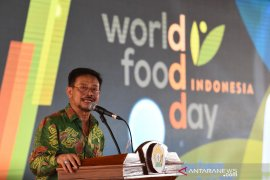 Mentan Syahrul Yasin Limpo ajak seluruh pihak majukan pertanian