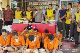 24 pengedar narkoba ditangkap di Siak,  dua di antaranya honorer RSUD
