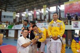 Atlet kempo Lampung meraih medali emas Porwil